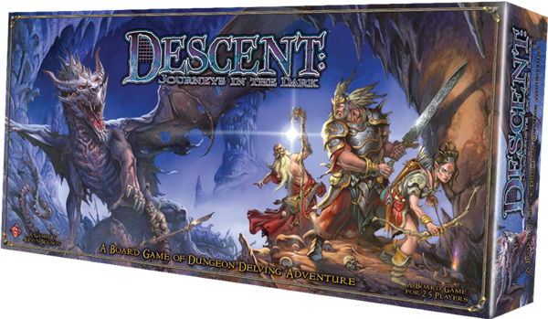 Descent Coffin Box